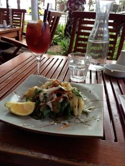 Calamari Salad YUM