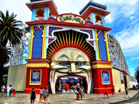Luna Park, St Kilda, 2013
