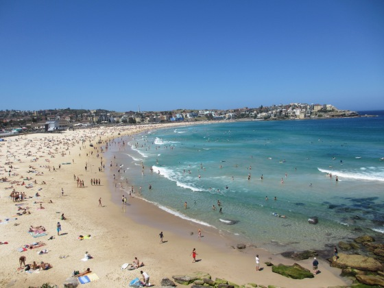 Bondi Beach. © Life Love and Yoga 2103