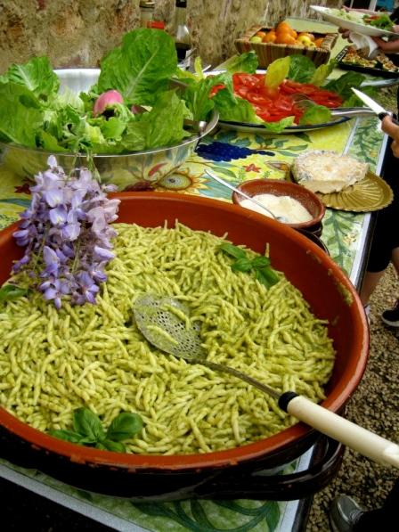 © Lauren Nogy 2013, Best Pasta of the Whole Trip- Pesto