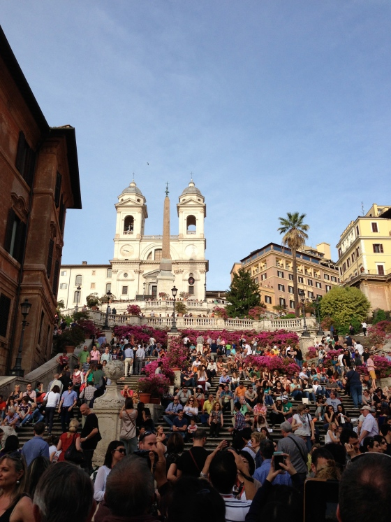 Spanish Steps, Rome, © Life Love and Yoga 2013